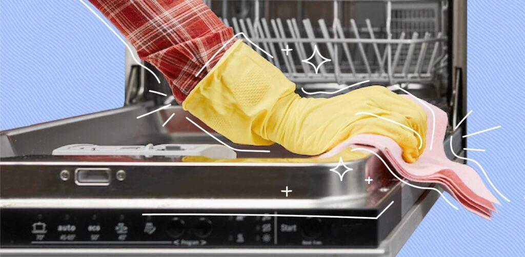 ماشین ظرفشویی را چگونه تمیز کنیم؟
